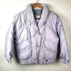 BOGNER Purple Down Winter Puffer Coat Ski Jacket